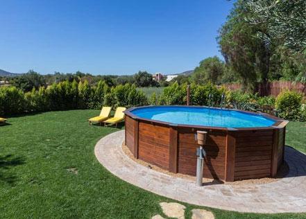 La piscine hors sol